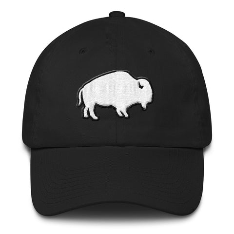 WHITE BUFFALO HAT