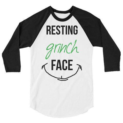 Resting Grinch Face Unisex Baseball