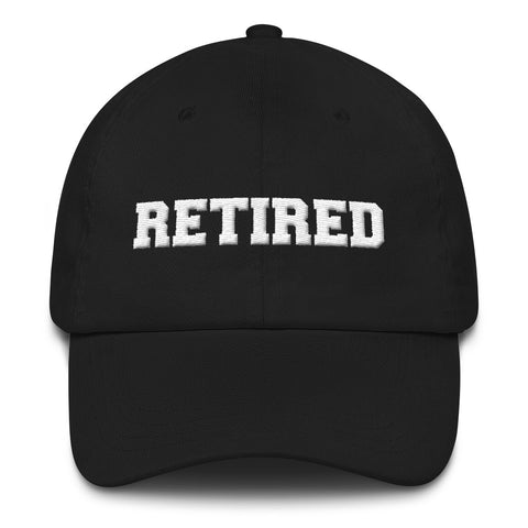 Retired Hat (Puff Embroidered)