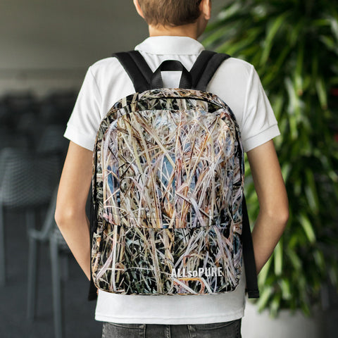 ALLsoPURE Camo Loaded Backpack