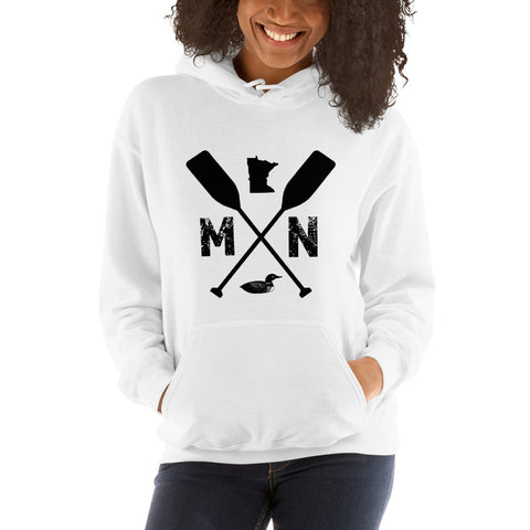 MN Unisex Hooded Sweatshirt