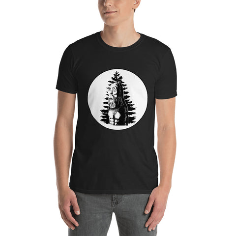 Gary Pines Shirt Logo Circle 2 Short-Sleeve Unisex T-Shirt