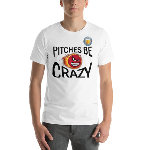 PITCHES BE CRAZY LOFT LOGO TOP Short-Sleeve Unisex T-Shirt