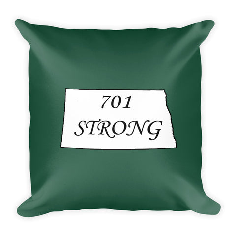 701 Strong Square Pillow