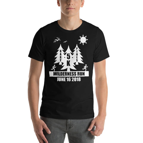 Gary Pines Shirt 1 Short-Sleeve Unisex T-Shirt