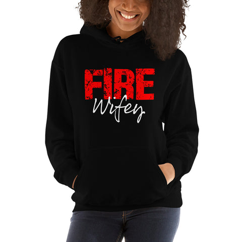 FIRE Wifey Hooded Sweatshirt