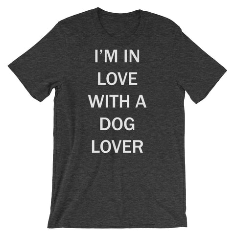 I'M IN LOVE WITH A DOG LOVER