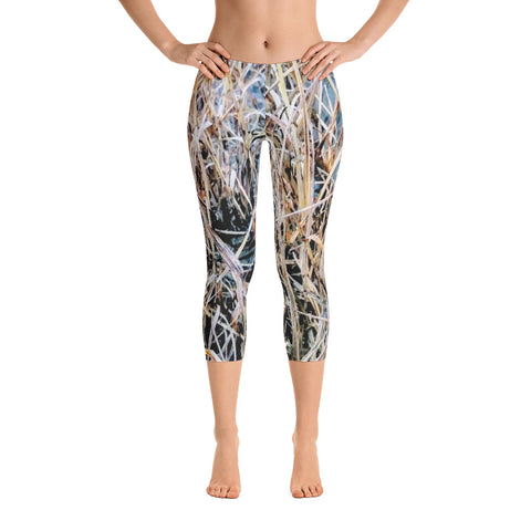 ALLSOPURE FULLY LOADED DUCK CAMO Capri Leggings