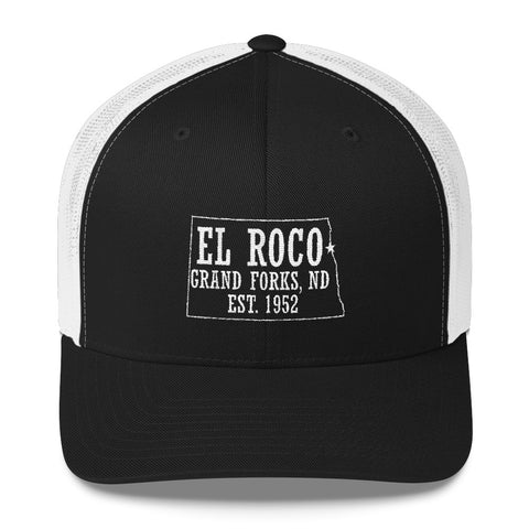 EL ROCO FINAL Trucker Cap BLACK/WHITE MESH