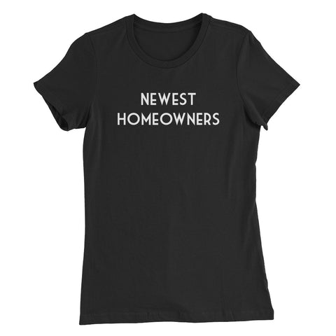 Newest Homeowners Women's Slim Fit T-Shirt