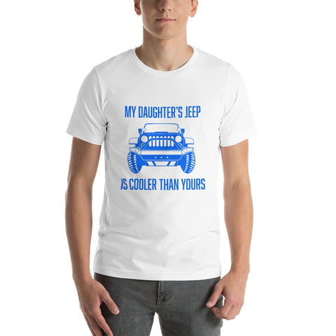 My Daughters Jeep 2 Short-Sleeve Unisex T-Shirt