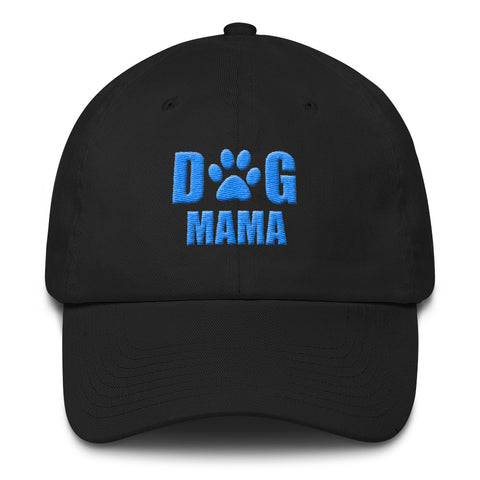 Dog Mama Cotton Cap (Puff Embroidered)