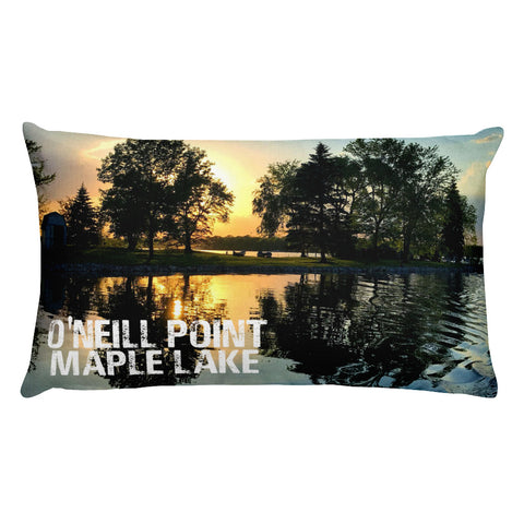 O'NEILL POINT Rectangular Pillow
