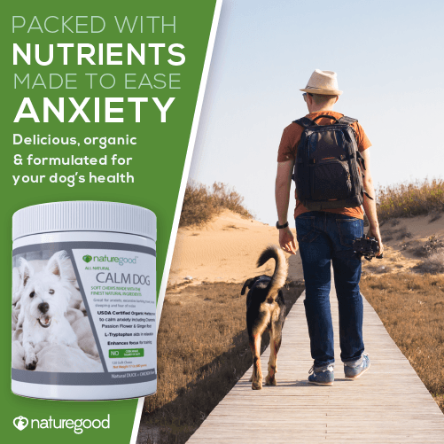 Premium Anxiety Calming + Stress Relief for Dogs | Organic Herbs