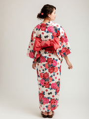 Red Hanakago Yukata Back