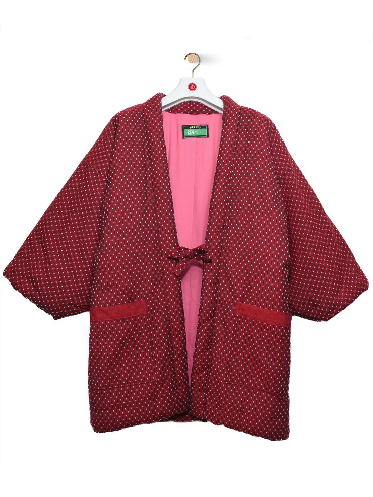 Red Hanten Padded Jacket