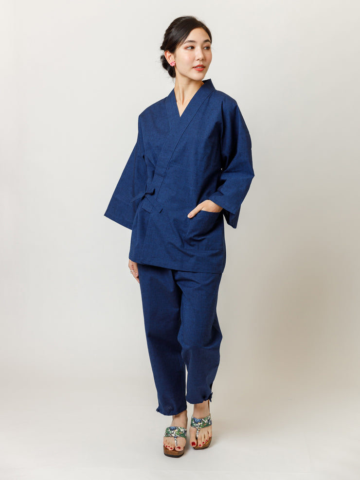 Japan Blue Samue Jacket & Lounge Pants