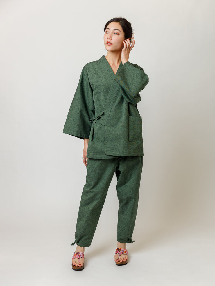 Matcha Green Samue Jacket & Lounge Pants