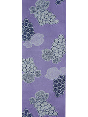 Reversible Grapevine Purple Obi Belt front side