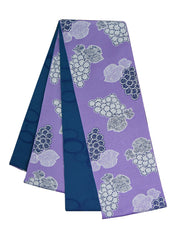 Reversible Grapevine Purple Obi Belt