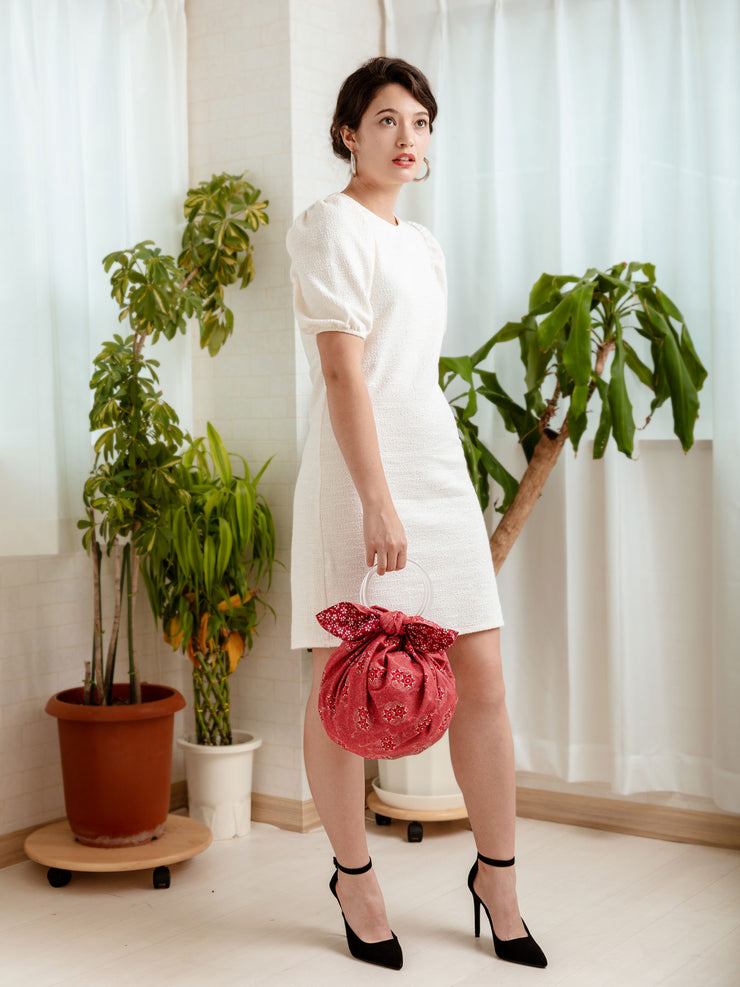 Taiko Reversible Furoshiki Handbag Model
