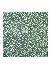 Green Karakusa Furoshiki Wrapping Cloth
