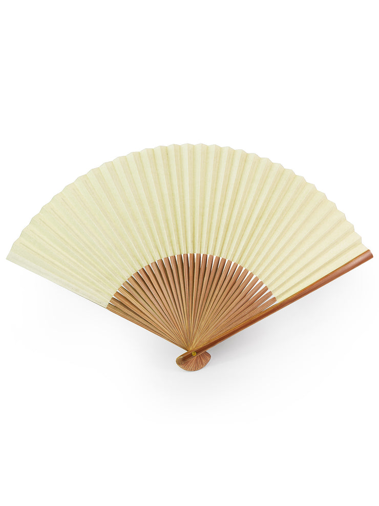 Sensu Japanese Fan in Matcha Green