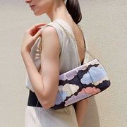 Kyo-Yuzen Silk Clutch in Pastel