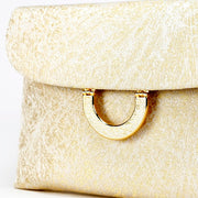 Kiku Silk Brocade Clutch Close-Up