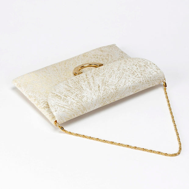 Kiku Silk Brocade Clutch Strap