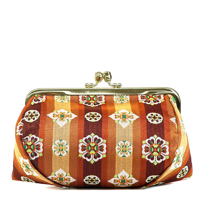 Tempyo Silk Brocade Travel Makeup Bag