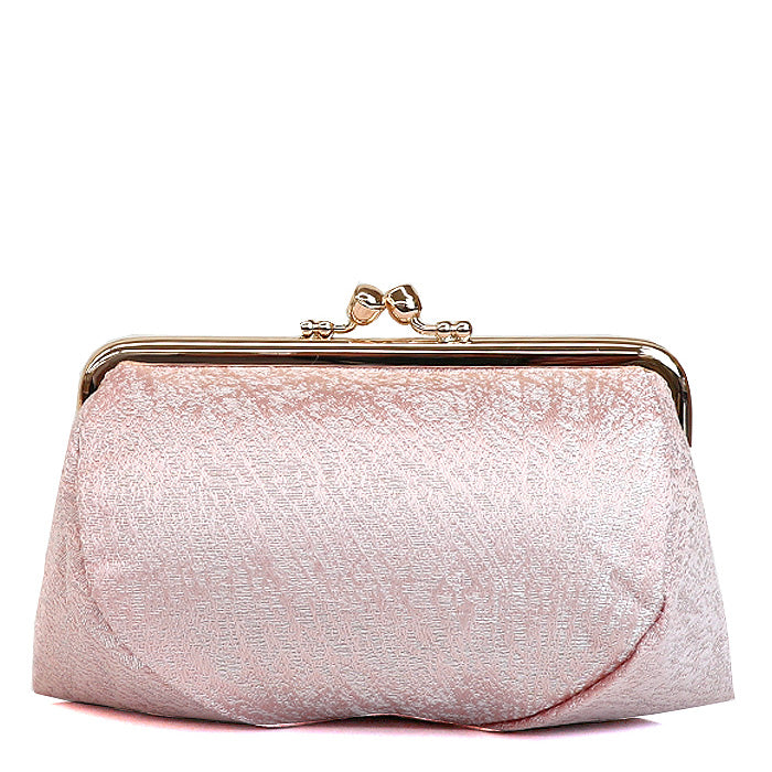 Kiku Silk Brocade Travel Makeup Bag