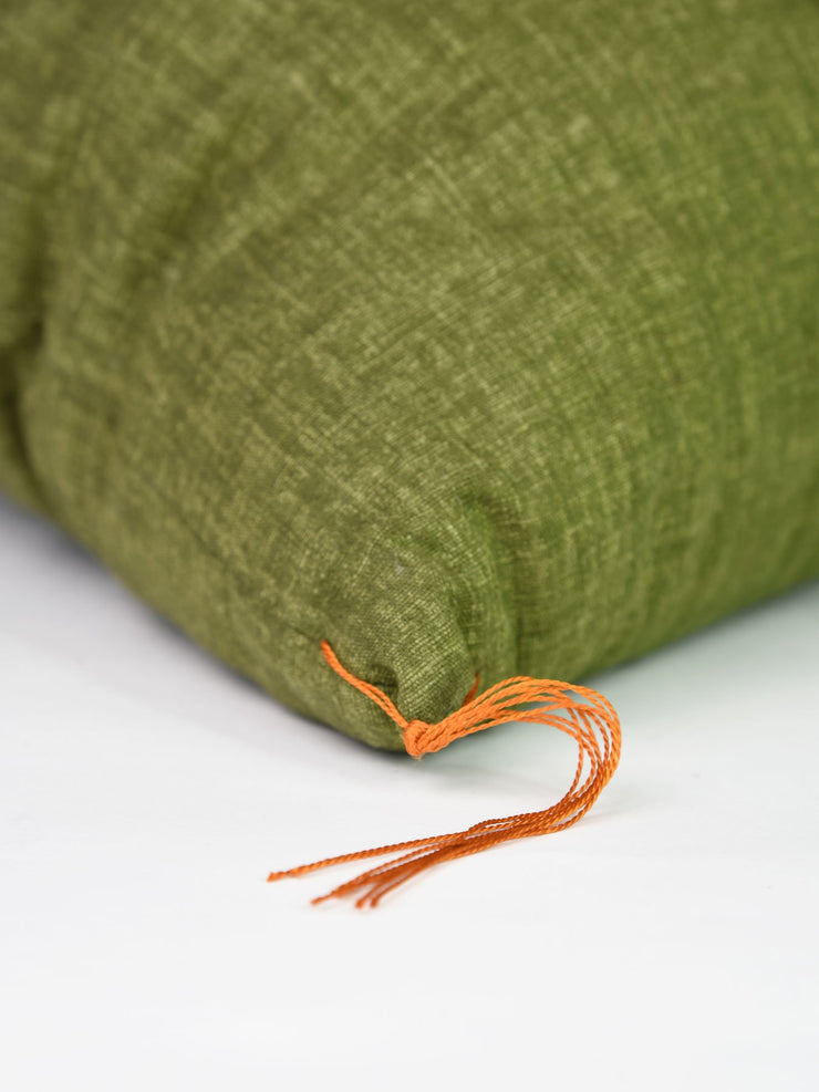 Matcha Green Zabuton Cushion Tassel