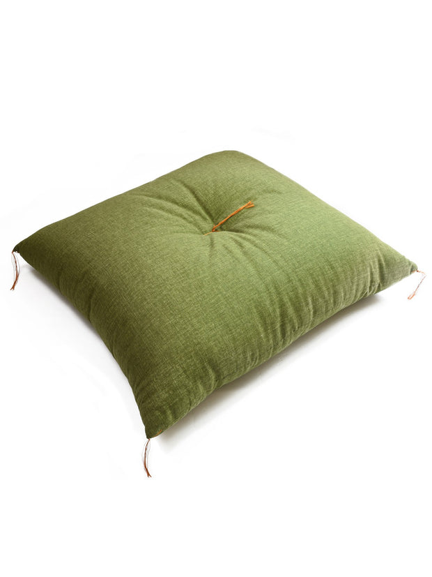 Matcha Green Zabuton Cushion