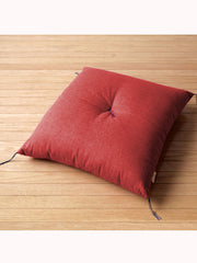 Red Zabuton Cushion