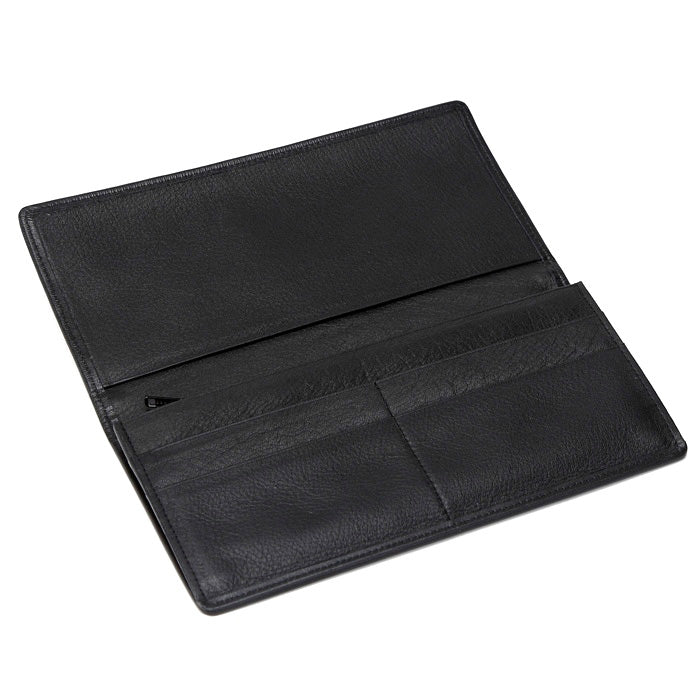 Koge Silk Brocade Leather Wallet Interior