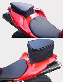 The Cycle Guys FastPack Motorcycle Tail Bags