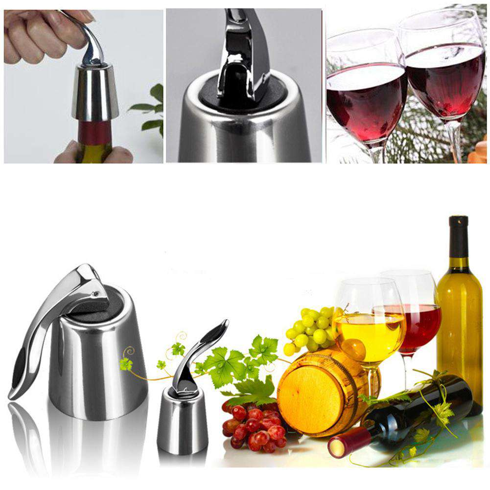 Vacuum Sealed Wine Stopper