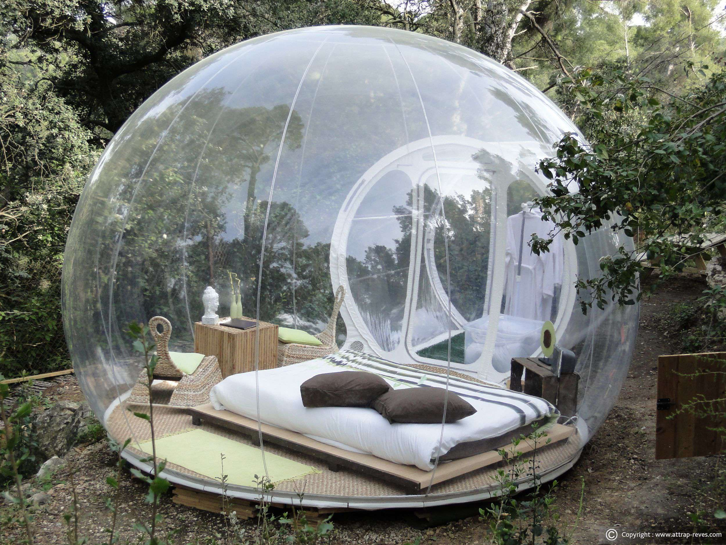 Clear Bubble Tent
