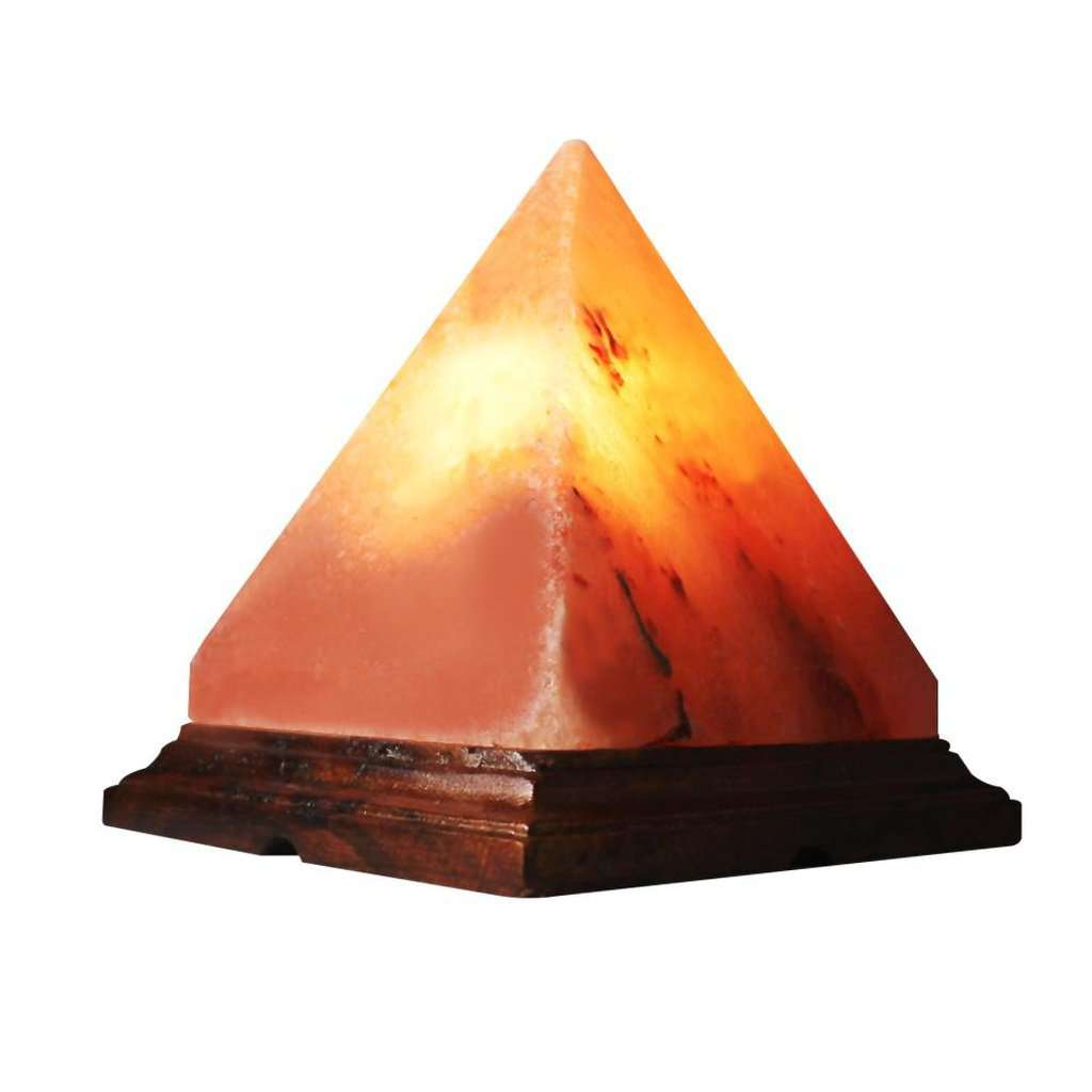 Pyramid Himalayan Salt Lamp