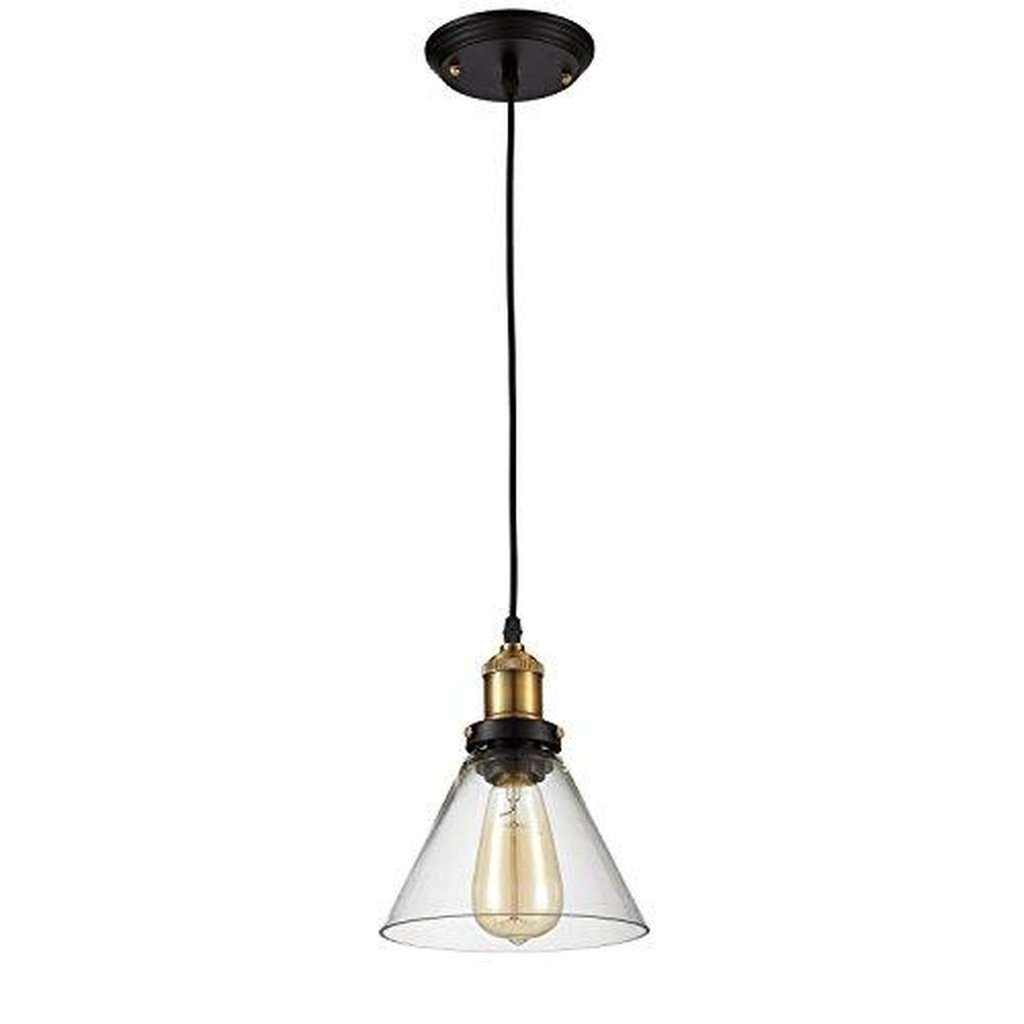 Edison Vintage Pendant Light Fixture - Bulb Included