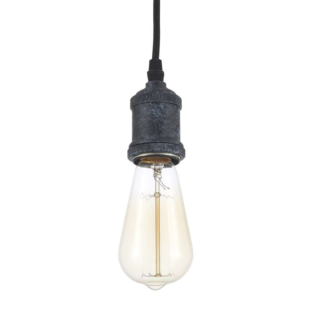 Edison Vintage Ceiling Light - Bulb Included, Antique Brass