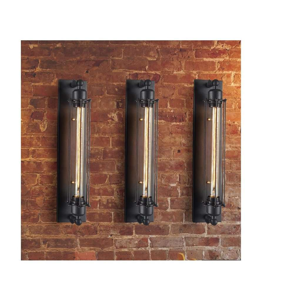 Edison Caged Wall Sconce - Bulb Included