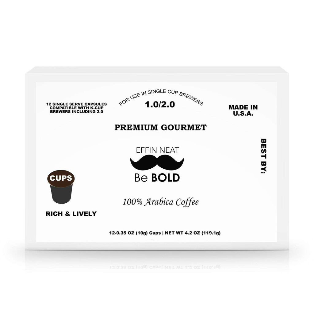 12 Pack Single Serve Coffee Capsules  10.00% Off Auto renew