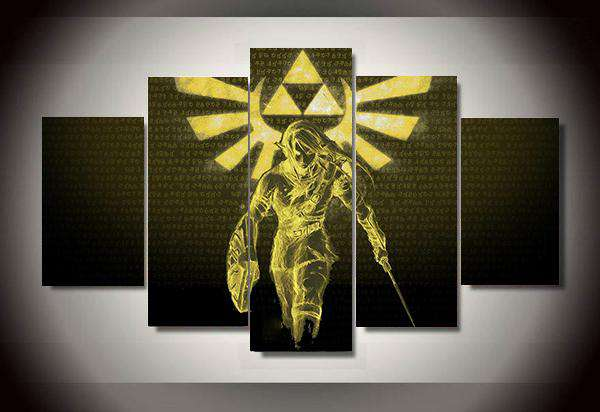 Legend Of Zelda Wall Art: A Link To The Past