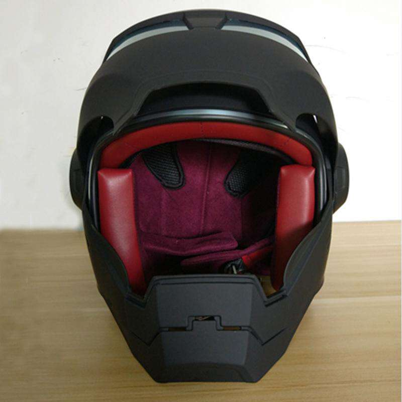 Iron Man Mark 2 Motorcycle Helmet - Charcoal