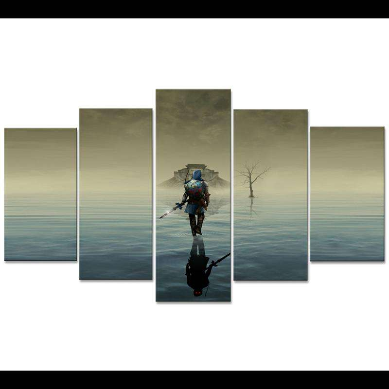 Legend of Zelda Wall Art: Water Temple
