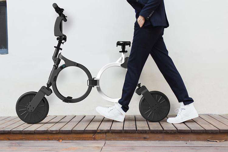 Compact Foldable Electric Bike