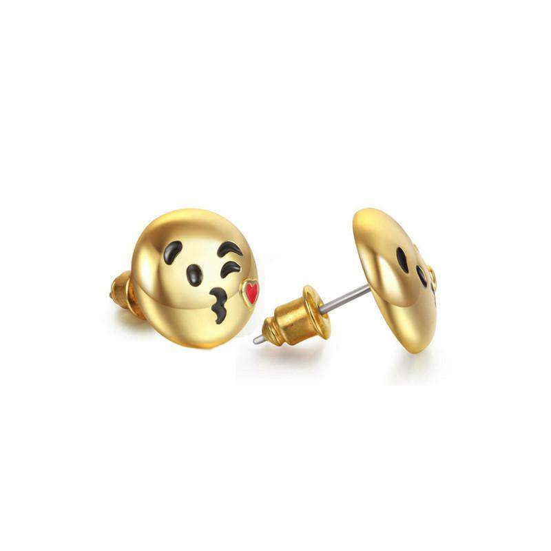 Kiss Emoji Earings