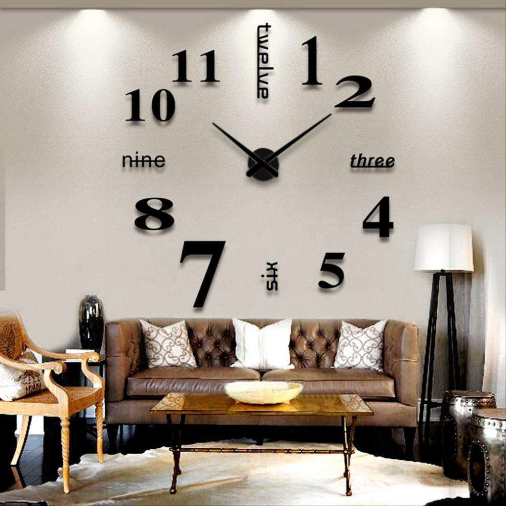 Giant DIY Wall Clock